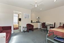 Unit 11 lounge Academy Motor Inn Tauranga Motel