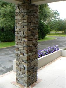Hyde Schist Column on a home reovation
