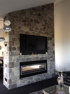 Taranaki Paddock Stone Fireplace A World of Stone