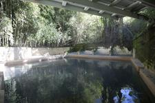 lucious thermal mineral pool