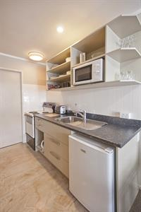 1 Bedroom Spa Apartment kitchen facilities