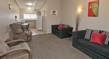Lounge in 2 Bedroom Apartment Sport Of kings