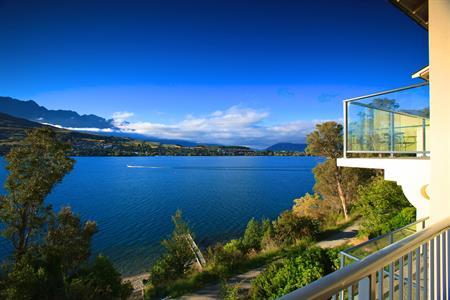 The view summer a Villa del Lago