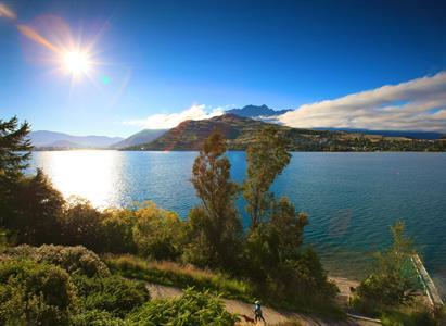 The view summer c Villa del Lago