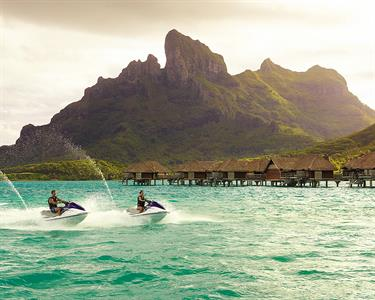 d- Four Seasons Resort Bora Bora - Jet Skiing