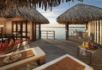 3a - St Regis Bora Bora Resort - Overwater Deluxe St. Regis Bora Bora Resort