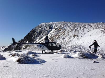 R44 in Kaimanawas INFLITE Experiences