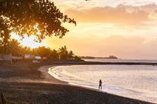 Le Tahiti by Pearl Resorts - Black sandy beach Le Tahiti by Pearl Resorts