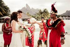 g - St Regis Resort Bora Bora - wedding ceremony 2