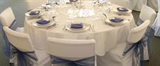 Chair covers, Tiebacks, Napkins package
