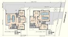 Scantlebury St site floor plan davista architecture LTD