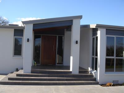 Johnston  entrance altered davista architecture LTD