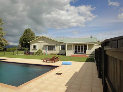 Ring house befroe pool view before davista architecture LTD