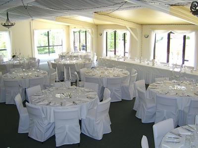 Function room Wedding setup