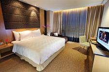 Junior suite bedroom Swiss-Belhotel Mangga Besar Jakarta