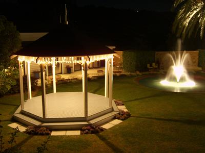 Fairylight Wedding gazebo