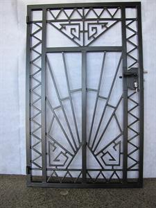 Gate: Custom art deco 290