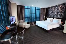 Presidential suite bedroom Swiss-Belhotel Mangga Besar Jakarta