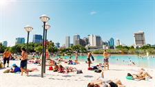 Street Beach Swiss-Belhotel Brisbane, South Brisbane