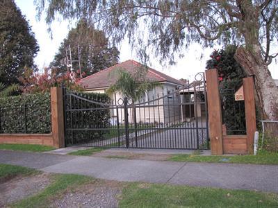 driveway gate 383 Iron Design