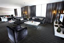 Presidential suite livingroom Swiss-Belhotel Mangga Besar Jakarta