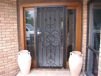 security door 610