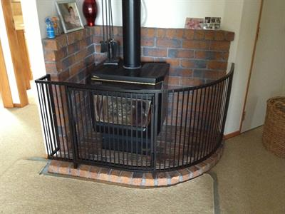 Fire surround: custom fit Iron Design