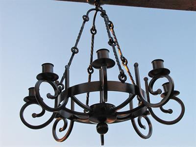 custom candelabra Iron Design