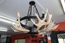 custom antler chandelier round Iron Design
