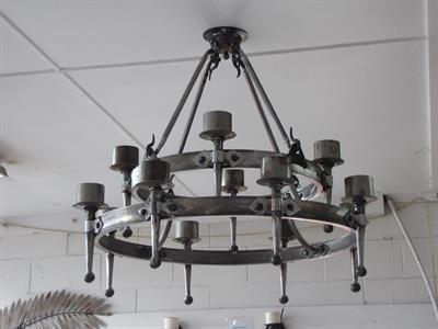 Chandelier 002 American Iron Design