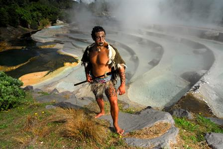 Wairakei Terraces and Warrior