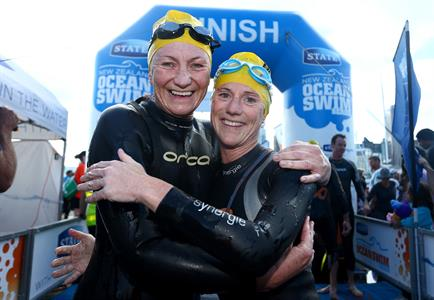 Credit Simon Watts. NZ Ocean Swim Series