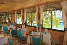 c - Relais Mahana Huahine - The Restaurant inside Relais Mahana Huahine