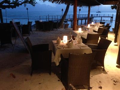 c - Relais Mahana Huahine - The Restaurant Relais Mahana Huahine
