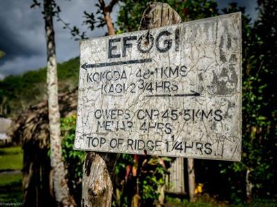 Kokoda Trek Sign PNG Trekking Adventures - Kokoda