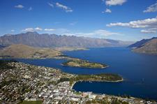 Queenstown Aerial View Wakatipu Basin