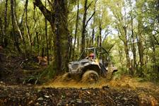 On Yer Bike, quad biking, Greymouth, West Coast activity. Photo credit to Backpacker Guide