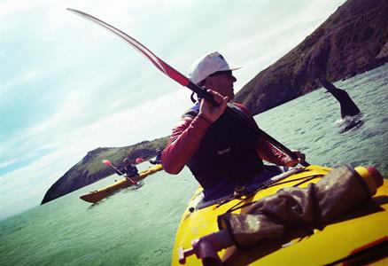 Kayaking Dunedin NZ seal diving