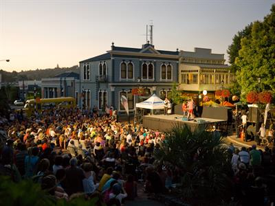 Entertainment in the Central City - Nelson