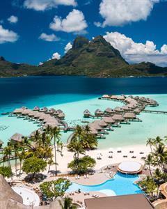 Aerial View - Le Bora Bora by Pearl Resorts Le Bora Bora by Pearl Resorts