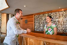 Front office welcome - Le Bora Bora by Pearl Resorts Le Bora Bora by Pearl Resorts