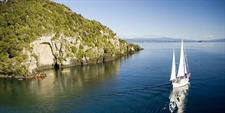 Sailing Lake Taupo The Lodge at Kinloch