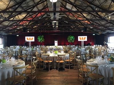 Lunch event @ Shed 10, Auckland