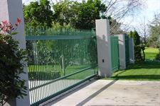 Driveway gate 306 Iron Design