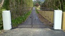 Driveway gate 313 Iron Design