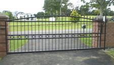 driveway gate 314 Iron Design