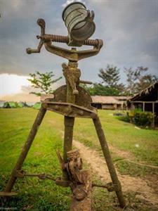 Kokoda Sculpture PNG Trekking Adventures - Kokoda