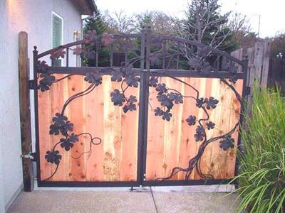 driveway gate 319 Iron Design