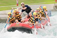 Rafting at Vector Wero