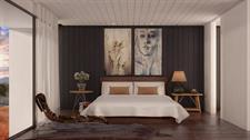 Villa bedroom The Lodge at Kinloch